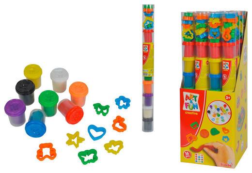 KNETMASSE - Multicolor, Basics, Weitere Naturmaterialien (//null)