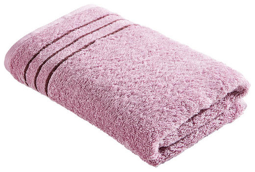 HANDTUCH 50/100 cm - Rosa, Basics, Textil (50/100cm) - CAWOE
