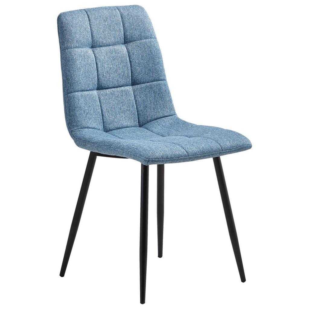Livetastic Stuhl webstoff blau