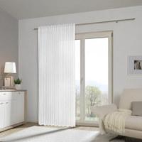 FERTIGVORHANG transparent - Weiß, Basics, Textil (140/245cm) - Esposa
