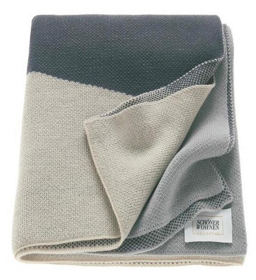 WOHNDECKE 140/200 cm Beige, Grau - Beige/Grau, Textil (140/200cm) - Schöner Wohnen