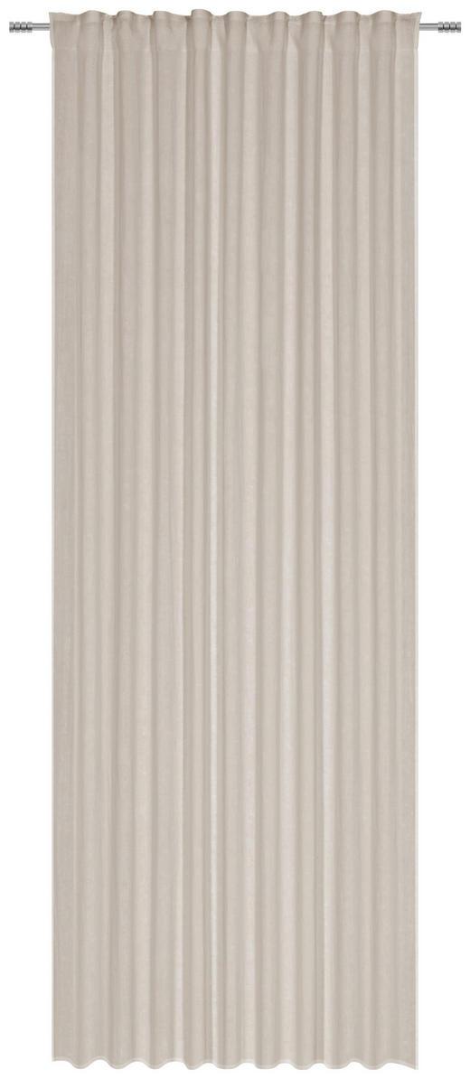 FERTIGVORHANG halbtransparent - Grau, Natur, Textil (140/280/cm) - Esposa