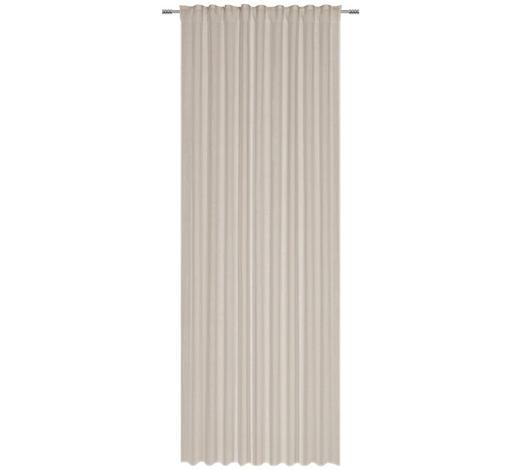 FERTIGVORHANG halbtransparent  - Grau, Natur, Textil (140/280cm) - Esposa