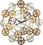 HODINY NÁSTĚNNÉ - Multicolor, Basics, kov (84cm) - AMBIA HOME