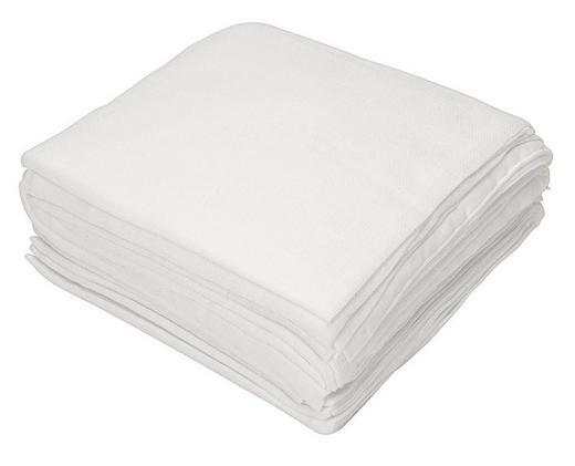 STOFFWINDELSET - Weiß, Basics, Textil (80/80cm) - MY BABY LOU