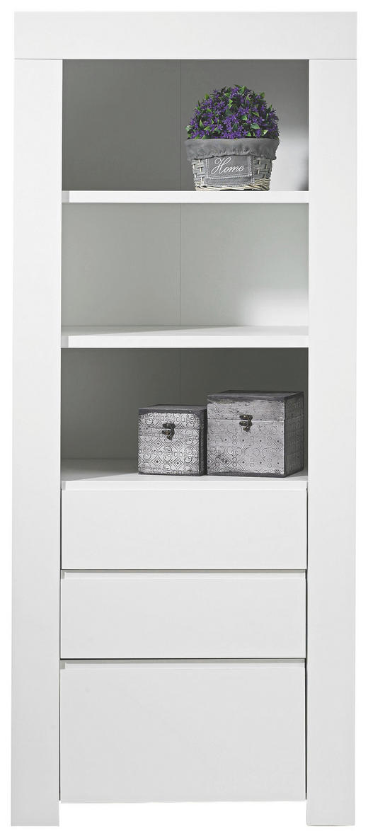 REGAL Weiß - Weiß, Design, Holzwerkstoff (70/170/50cm) - CARRYHOME