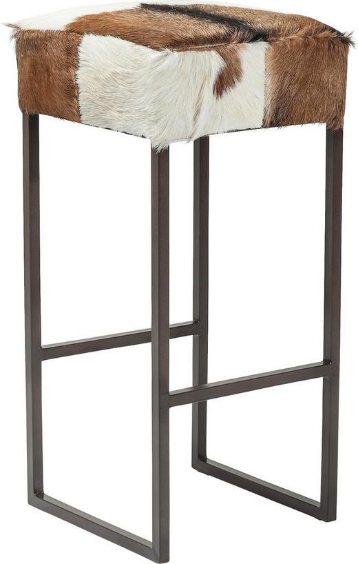 TRESENSTUHL Braun, Schwarz, Weiß - Schwarz/Braun, Design, Textil/Metall (35/74/35cm) - Kare-Design