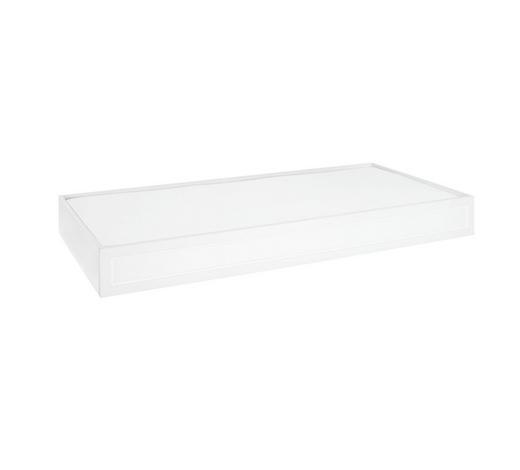 BETTSCHUBKASTEN - Weiß, Trend, Holzwerkstoff (95,6/21/199cm) - Xora