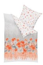 BETTWÄSCHE 140/200 cm - Orange, MODERN, Textil (140/200cm) - KAEPPEL