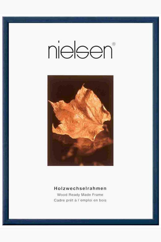 BILDERRAHMEN  Dunkelblau - Dunkelblau, Basics, Holz (15/20cm)