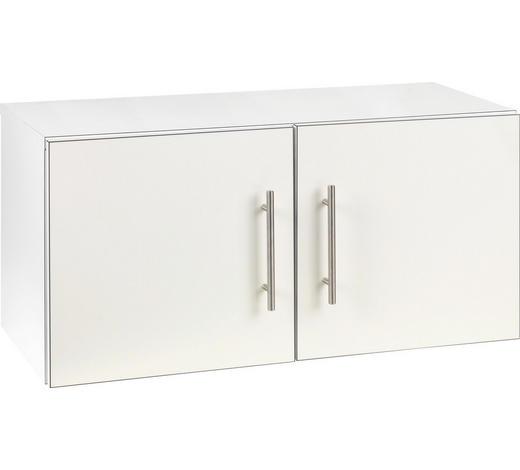 AUFSATZSCHRANK 80/38/32,5 cm Weiß  - Weiß, Design (80/38/32,5cm) - Welnova