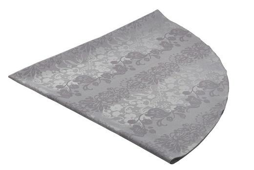 TISCHDECKE Textil Jacquard Graphitfarben 170 cm - Graphitfarben, Basics, Textil (170cm)