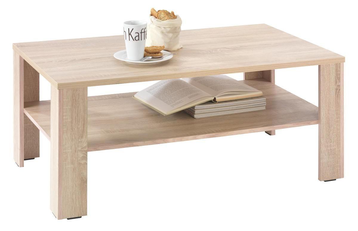 COUCHTISCH In 110/47/65 Cm Eichefarben   Eichefarben, Design, Holzwerkstoff  (