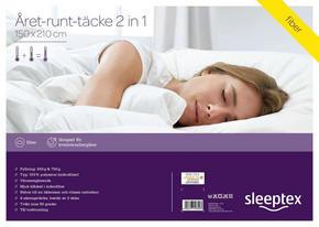 ÅRET-RUNT-TÄCKE - vit, Basics, textil (150/210cm) - Sleeptex