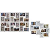 Collagen-bilderrahmen in Weiß  - Weiß, Konventionell, Kunststoff (57/86/2,6cm)