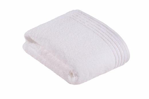 BADETUCH - Weiß, Basics, Textil (100/150/cm) - Vossen