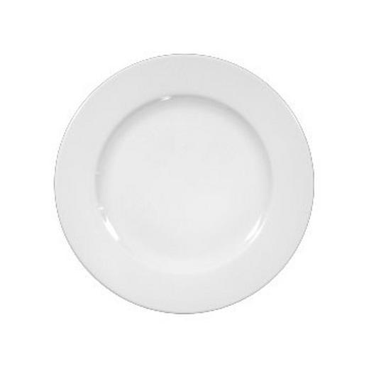 FRÜHSTÜCKSTELLER Keramik Porzellan - Weiß, Basics, Keramik (20cm) - Seltmann Weiden