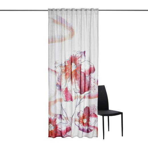 FERTIGVORHANG  transparent  140/245 cm - Beere, Design, Textil (140/245cm) - Esposa