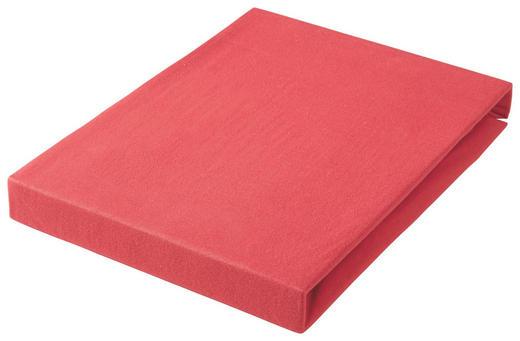 SPANNBETTTUCH Jersey Rot bügelfrei, für Wasserbetten geeignet - Rot, Basics, Textil (150/200cm) - Esposa