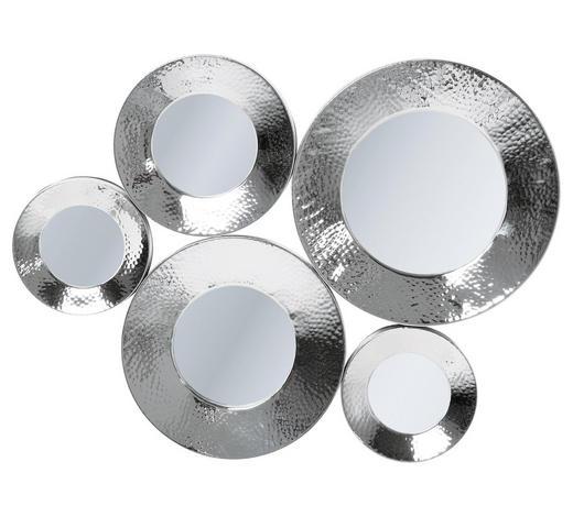WANDSPIEGEL 62/46/3,5 cm - Silberfarben, Trend, Glas/Metall (62/46/3,5cm) - Kare-Design