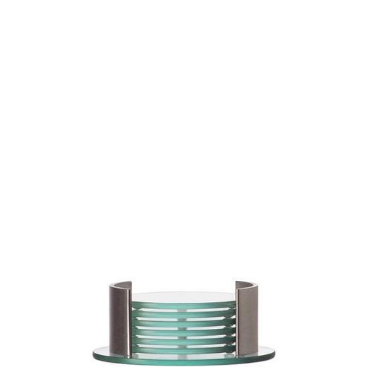 UNTERSETZERSET - Klar, Basics, Glas (14/5.3cm) - Leonardo
