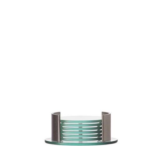 UNTERSETZERSET - Klar, Design, Glas (14/5.3cm) - Leonardo