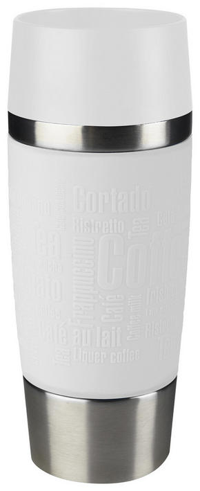 COFFEE-TO-GO-MUGG - vit, Design, metall/plast (0,36l) - Tefal