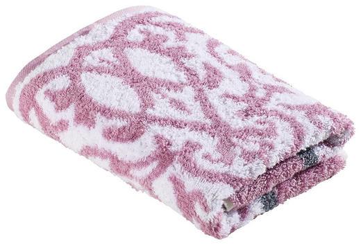 HANDTUCH 50/100 cm - Rosa, Design, Textil (50/100cm) - Cawoe