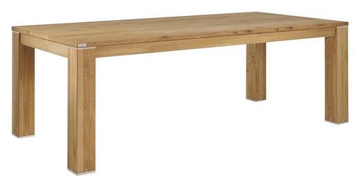 ESSTISCH Wildeiche massiv rechteckig Eichefarben - Eichefarben, Design, Holz (230/100/76cm) - MUSTERRING