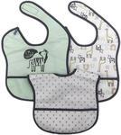 LÄTZCHEN 3-teilig  - Weiß/Grau, Basics, Textil (28/40cm) - My Baby Lou