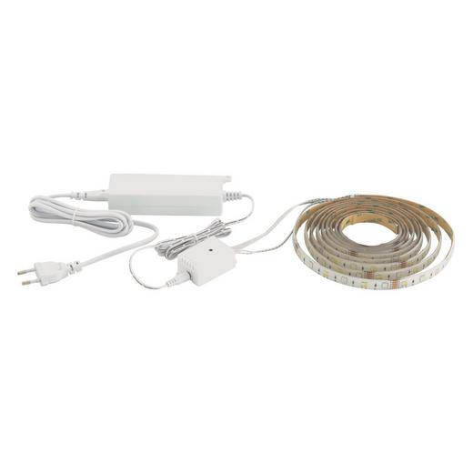 LED-STRIP - Weiß, LIFESTYLE, Kunststoff (500cm)