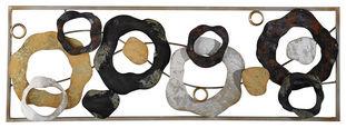 STENSKA DEKORACIJA - večbarvno, Trendi, kovina (89,5/31/4cm) - Ambia Home