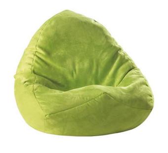 SEDACÍ PYTEL - zelená, Design, textil (75/110/75cm) - Boxxx