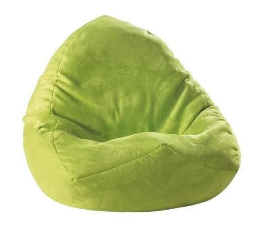SEDACÍ PYTEL, zelená - zelená, Design, textil (75/110/75cm) - Boxxx