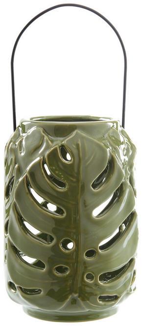 LJUSLYKTA - grön, Trend, keramik (12/17,8cm) - Ambia Home