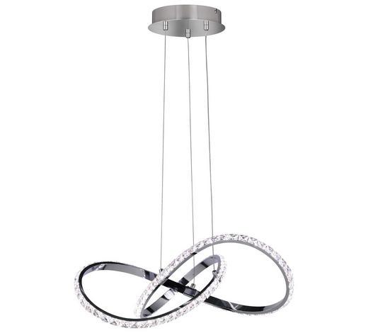 VISEČA LED SVETILKA 6912 - krom, Design, kovina (55/120/55cm)