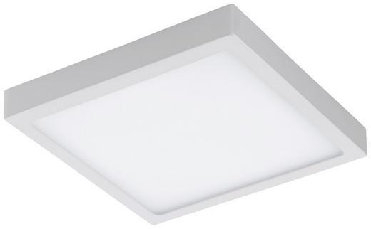 LED-DECKENLEUCHTE - Weiß, KONVENTIONELL, Kunststoff/Metall (30/30/4cm)
