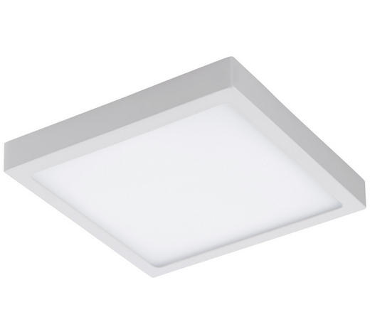 LED-PANEEL - Weiß, Basics, Kunststoff/Metall (30/30/4cm)