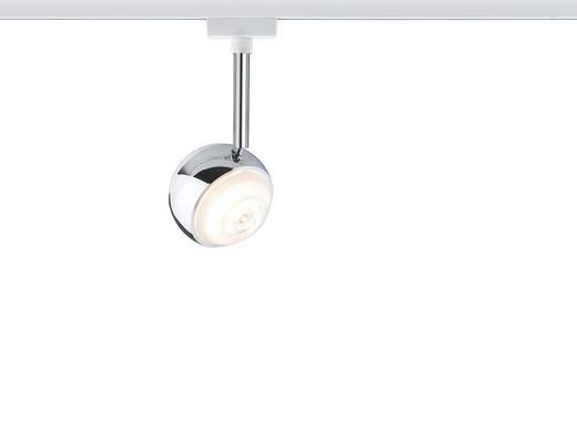 URAIL SCHIENENSYSTEM-STRAHLER - Chromfarben/Weiß, Design, Metall (8,0/21,0/8,0cm) - Paulmann