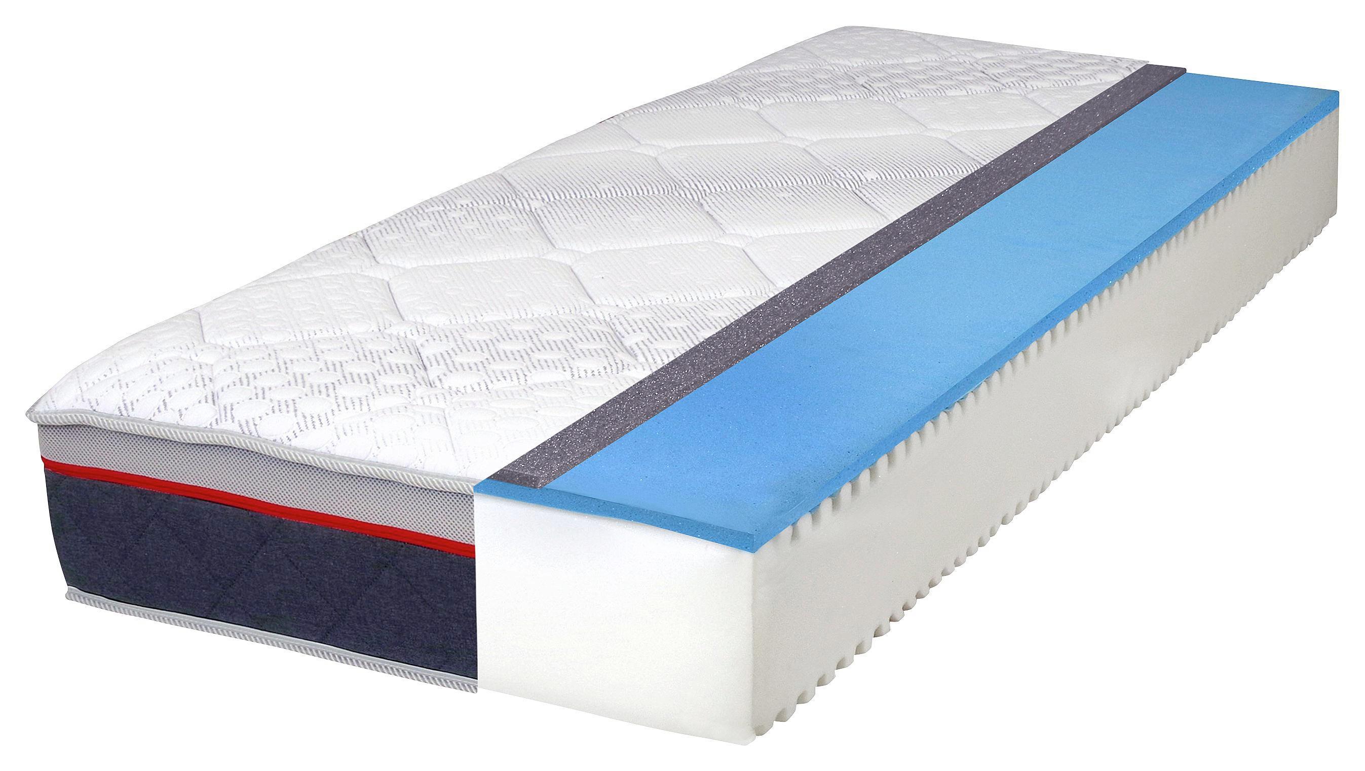 WENDEMATRATZE 140/200 cm - Weiß, Basics, Textil (140/200cm) - CARRYHOME