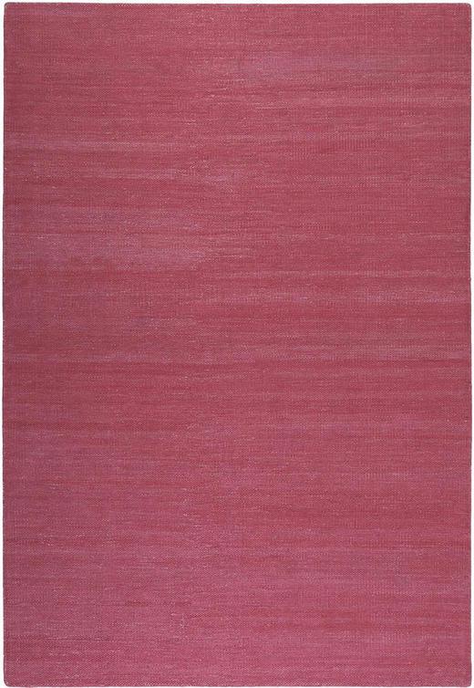 HANDWEBTEPPICH  130/190 cm  Dunkelrosa - Dunkelrosa, Basics, Textil (130/190cm) - Esprit