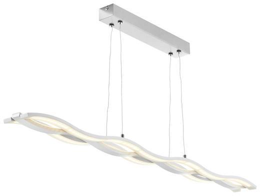 LED ZÁVĚSNÉ SVÍTIDLO - bílá, Design, umělá hmota (105cm) - Ambiente
