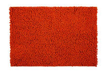 BADEMATTE in Orange 60/90 cm - Orange, Basics, Kunststoff/Textil (60/90cm) - Esposa