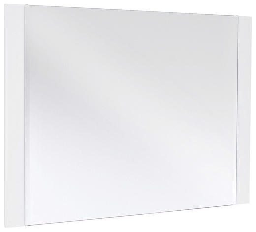 SPIEGEL - Weiß, Design, Glas/Holzwerkstoff (90/68/2cm) - Novel