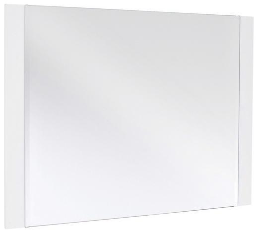 SPIEGEL 90/68/2 cm - Weiß, Design, Glas/Holzwerkstoff (90/68/2cm) - Novel