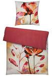 BETTWÄSCHE Makosatin Rot 135/200 cm  - Rot, Trend, Textil (135/200cm) - Ambiente