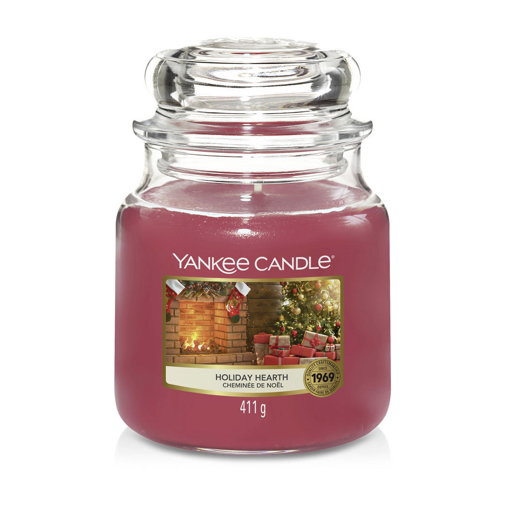 Yankee Candle Duftkerze yankee candle holiday hearth