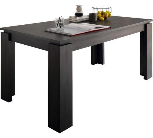ESSTISCH in Holzwerkstoff 160(200)/90/77 cm - Eschefarben/Grau, Basics, Holzwerkstoff (160(200)/90/77cm) - Carryhome