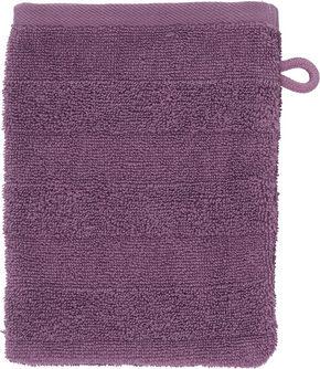 TVÄTTHANDSKE - lila, Natur, textil (16/22cm) - Linea Natura