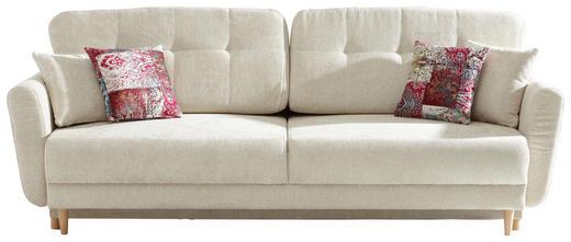 Dreisitzer Sofa Webstoff Creme Online Kaufen Xxxlutz